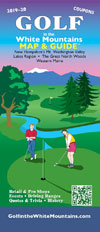 Golf in the White Mountains Map and Guide